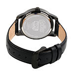 Avengers Mens Black Strap Watch-Wma000217