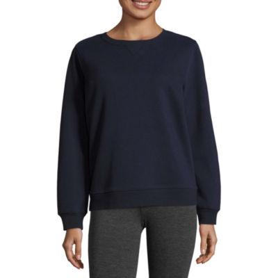 St. John's Bay Active Long Sleeve Sweatshirt- Talls