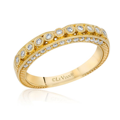Grand Sample Sale™ by Le Vian® 1/4 CT. T.W. Vanilla Diamonds® in 14K Honey Gold™ Bridal Ring