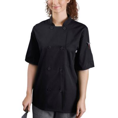5 Star Chef Apparel Unisex Long Sleeve Chef Coat-Big