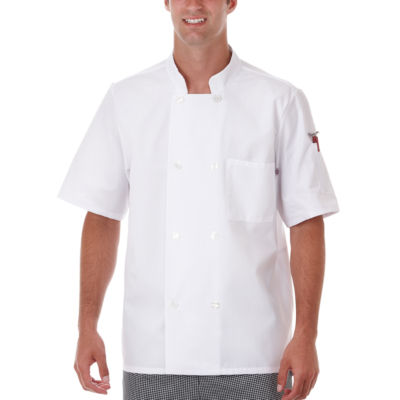 White Swan Unisex Long Sleeve Chef Coat-Big