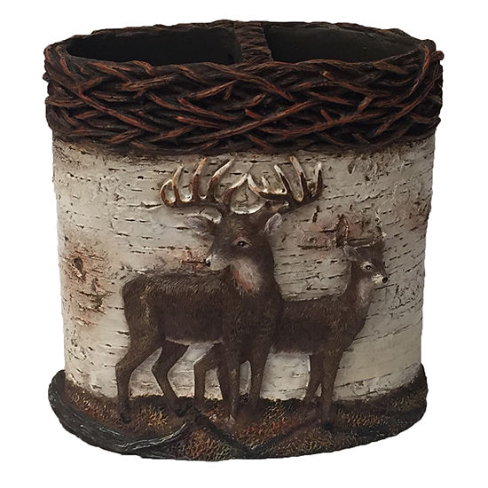 Laural Home Deer Time Toothbrush Holder