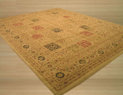 Eastern Rugs Machine-Made Traditional Oriental Magnificent Panel Tabriz Rug