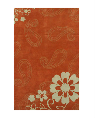Eastern Rugs Hand-tufted Contemporary Floral Ron Rug