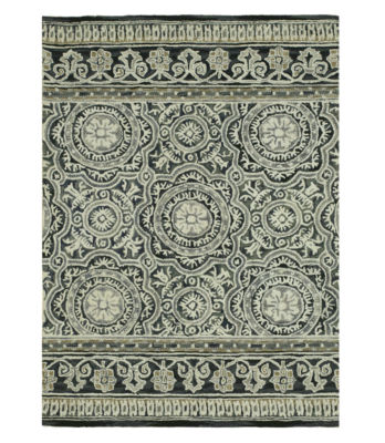 Eastern Rugs Hand-tufted Transitional Floral Claire Rug