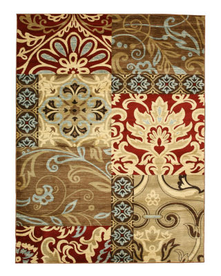 Eastern Rugs Machine-Made Transitional Delora Floral Rug