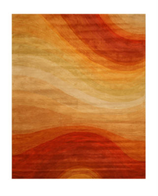 Eastern Rugs Hand-tufted Contemporary Abstract Desert Rug