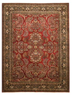 Eastern Rugs Hand-knotted New Zealand TraditionalOriental Sarouk Rug