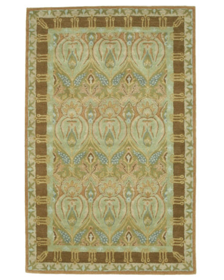 Eastern Rugs Hand-tufted Traditional Floral MorganRug