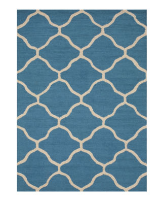 Eastern Rugs Hand-tufted Traditional Trellis Moroccan Rug