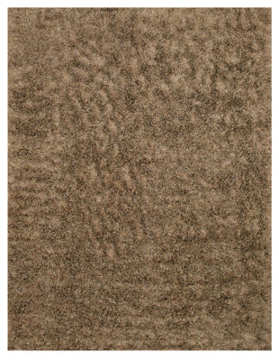 Eastern Rugs Handwoven and Contemporary Solid Shaggy Rug