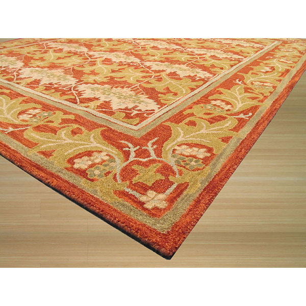 Eastern Rugs Hand-tufted Transitional Oriental Morris Rug