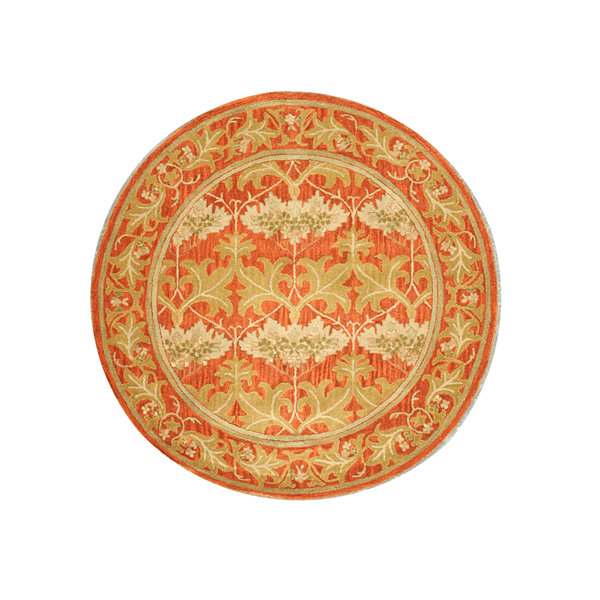 Eastern Rugs Hand-tufted Transitional Oriental Morris Round Rug