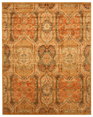 Eastern Rugs Hand-tufted Transitional Floral Piazza Rug
