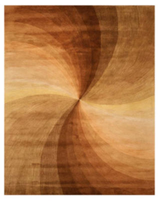 Eastern Rugs Hand-tufted Contemporary Abstract Swirl Rug