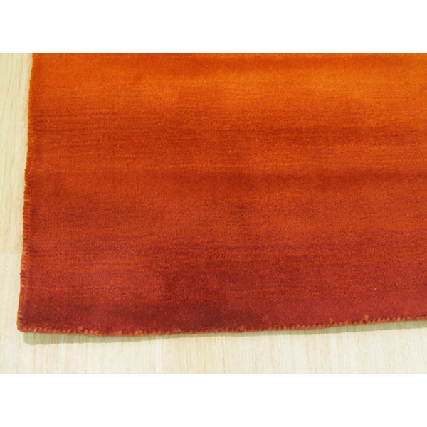 Eastern Rugs Handmade Transitional Solid Horizon Rug