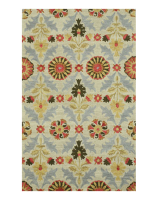 Eastern Rugs Hand-tufted Transitional Floral Marcel Rug