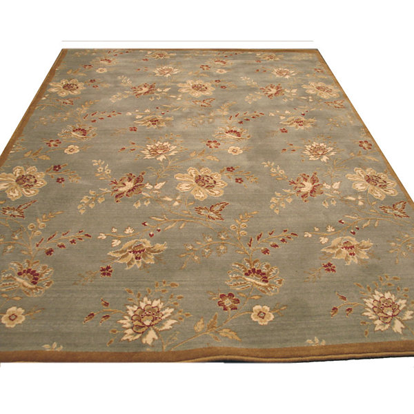 Eastern Rugs Machine-Made Traditional Floral Florance Area Rug