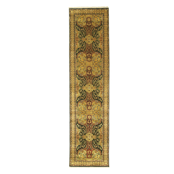 Eastern Rugs Hand-knotted New Zealand TransitionalOriental Polonaise Rug