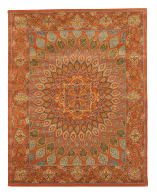 Eastern Rugs Hand-tufted Traditional Oriental Gombad Rug