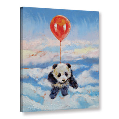 Brushstone Balloon Ride Gallery Wrapped Canvas Wall Art