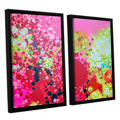 Brushstone Long Kiss 2-pc. Floater Framed Canvas Wall Art
