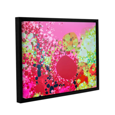 Brushstone Long Kiss Gallery Wrapped Floater-Framed Canvas Wall Art