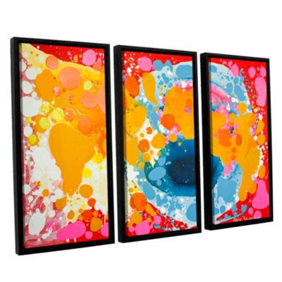 Brushstone Brave 3-pc. Floater Framed Canvas WallArt
