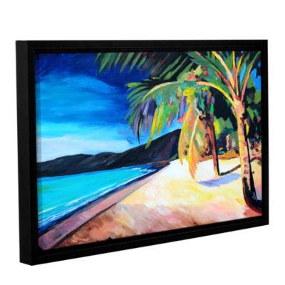 Brushstone Magen's Bay St. Thomas Virgin Islands Gallery Wrapped Floater-Framed Canvas Wall Art