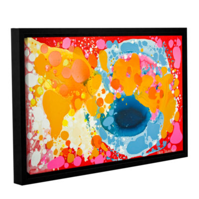 Brushstone Brave Gallery Wrapped Floater-Framed Canvas Wall Art