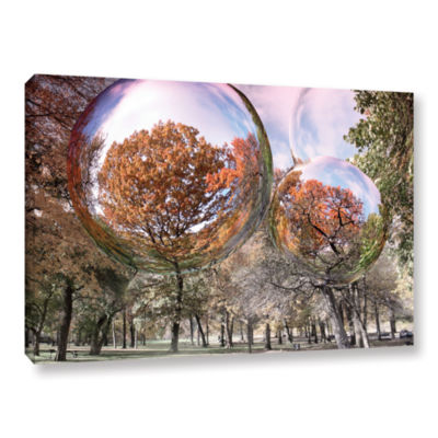 Brushstone Bubbles Gallery Wrapped Canvas Wall Art