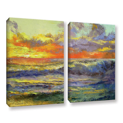 Brushstone California Dreaming 2-pc. Gallery Wrapped Canvas Wall Art