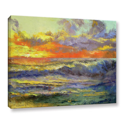 Brushstone California Dreaming Gallery Wrapped Canvas Wall Art