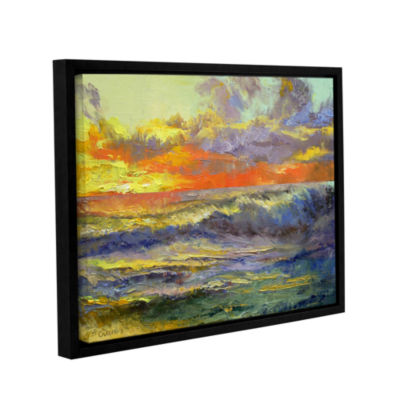 Brushstone California Dreaming Gallery Wrapped Floater-Framed Canvas Wall Art