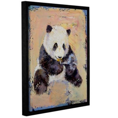 Brushstone Cigarette Break Gallery Wrapped Floater-Framed Canvas Wall Art