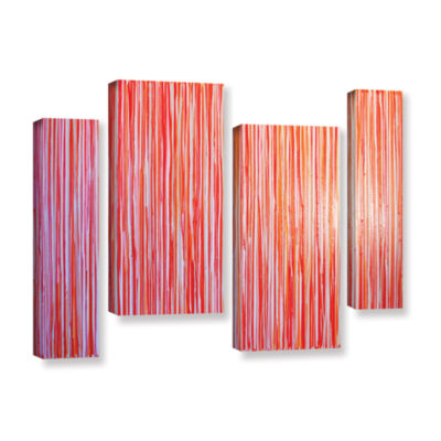 Brushstone Date Night 4-pc. Gallery Wrapped Staggered Canvas Wall Art