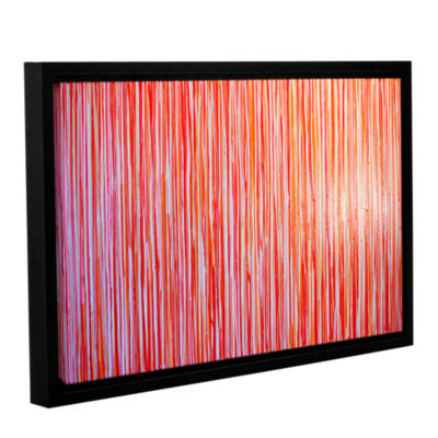 Brushstone Date Night Gallery Wrapped Floater-Framed Canvas Wall Art