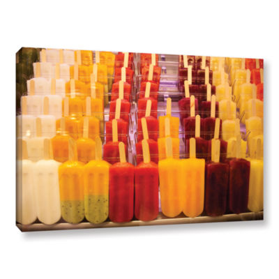 Brushstone Popsicle Gallery Wrapped Canvas Wall Art