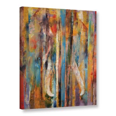 Brushstone Elephant Gallery Wrapped Canvas Wall Art