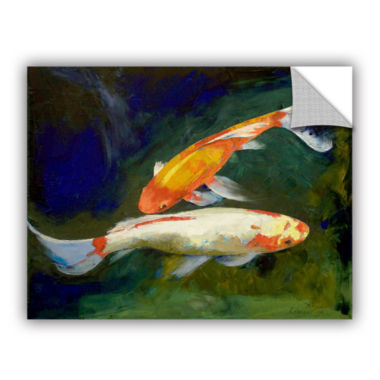 Brushstone Feng Shui Koi Fish Removable Wall Decal