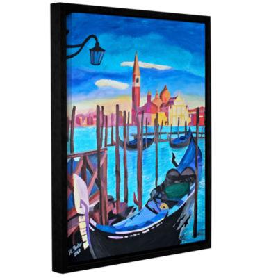 Brushstone San Giorgio Maggiore of Venice GalleryWrapped Floater-Framed Canvas Wall Art