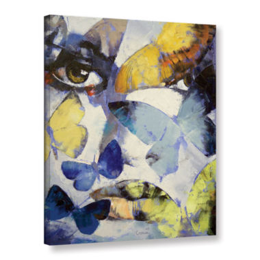 Brushstone Gothic Butterflies Gallery Wrapped Canvas Wall Art