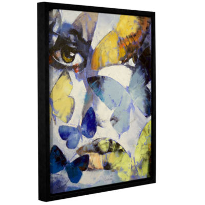 Brushstone Gothic Butterflies Gallery Wrapped Floater-Framed Canvas Wall Art