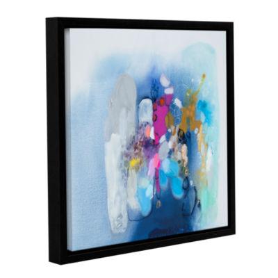 Brushstone Secret Heart Gallery Wrapped Floater-Framed Canvas Wall Art