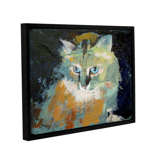 Brushstone Himalayan Cat Gallery Wrapped Floater-Framed Canvas Wall Art