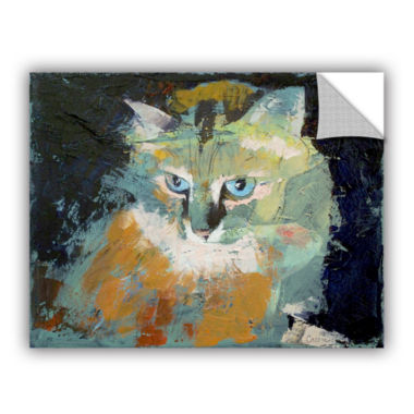 Brushstone Himalayan Cat Removable Wall Decal