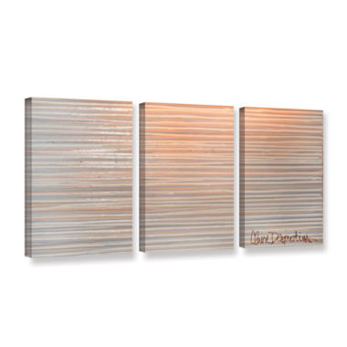 Brushstone Slumber 3-pc. Gallery Wrapped Canvas Wall Art