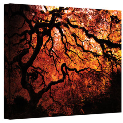 Brushstone Japanese Tree Gallery Wrapped Canvas Wall Art