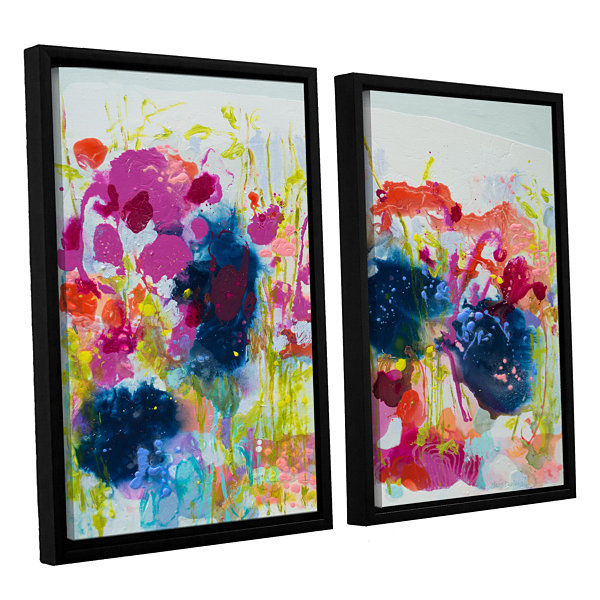 Brushstone July Heat 2-pc. Floater Framed Canvas Wall Art