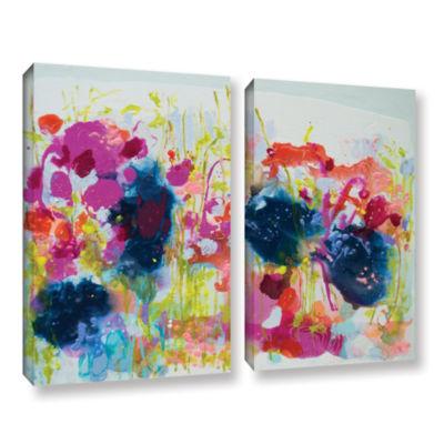 Brushstone July Heat 2-pc. Gallery Wrapped CanvasWall Art